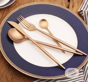 For Set Excutive Gold Plated Spoon | Kitchen & Dining for sale in Lagos State, Lagos Island (Eko)