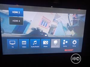 Very Clean Smart Sharp TV, Working Perfectly   TV & DVD Equipment for sale in Lagos State, Surulere