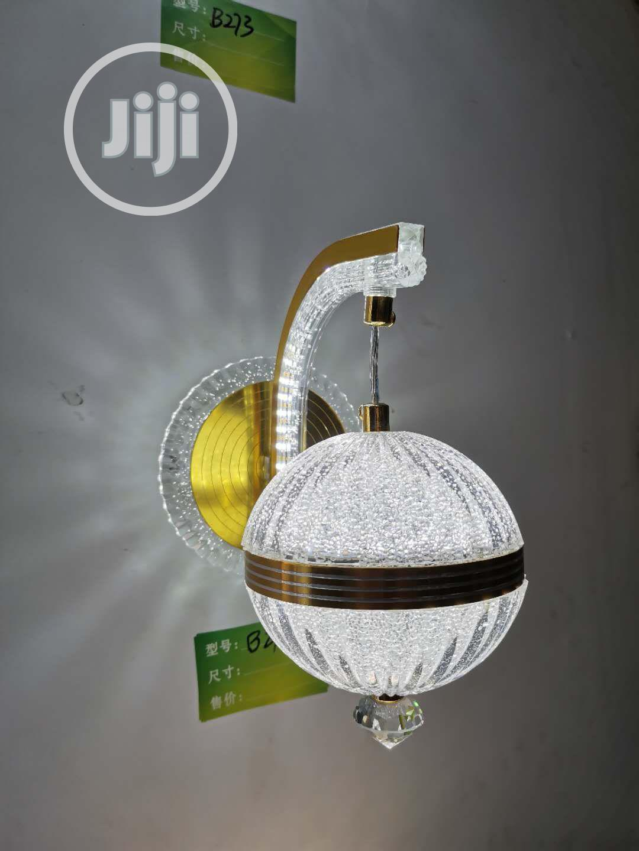 Crystal LED Wall Bracket (Gold)