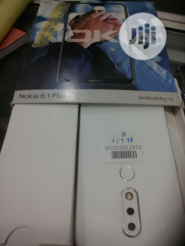 Nokia 6.1 Plus (X6) 64 GB Black | Mobile Phones for sale in Ikeja, Lagos State, Nigeria