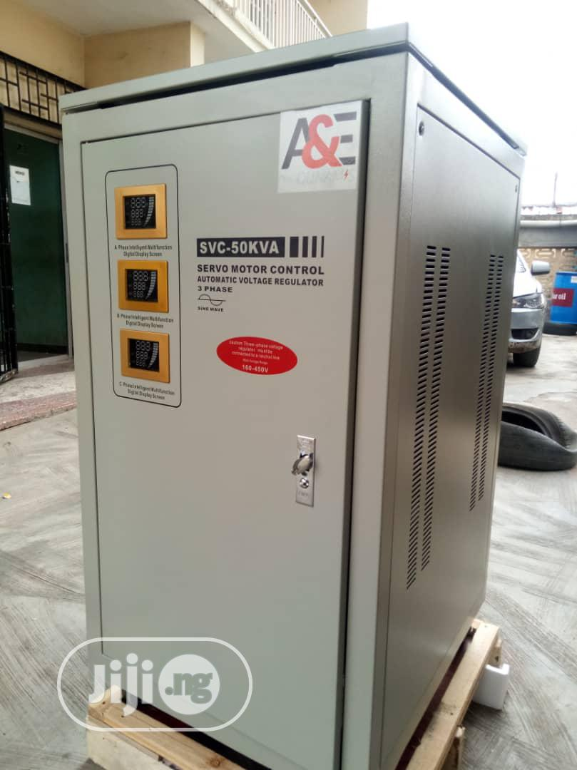 50kva 3-phase Industrial Stabilizer (With Pay Later Option)   Electrical Equipment for sale in Ikeja, Lagos State, Nigeria