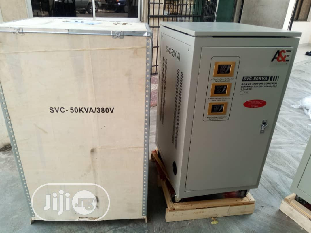 50kva 3-phase Industrial Stabilizer (With Pay Later Option)