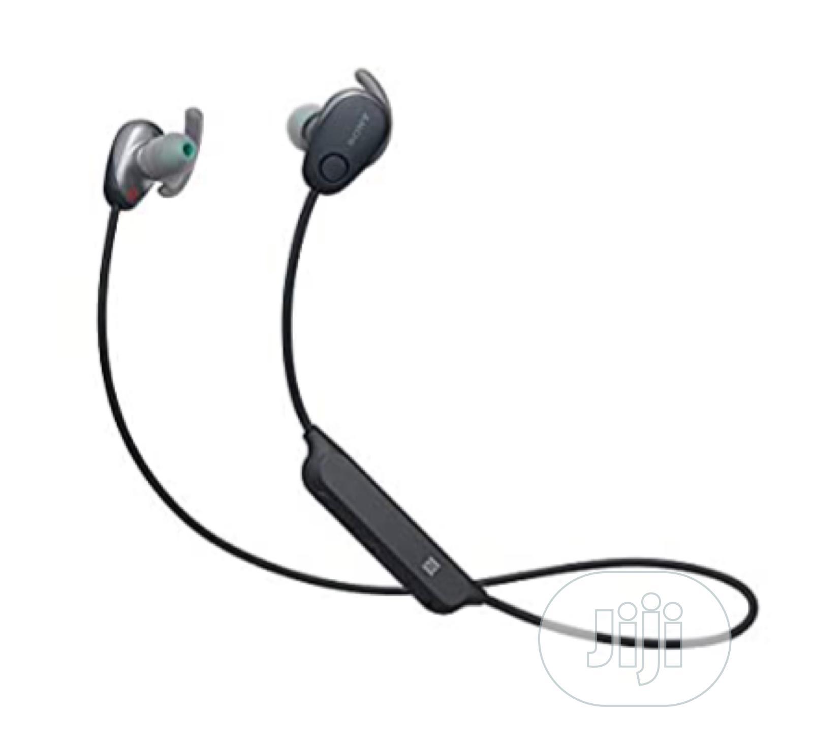 Sony WI-SP600N/B Wireless Noise Canceling Headphones | SP600 | Headphones for sale in Oluyole, Oyo State, Nigeria