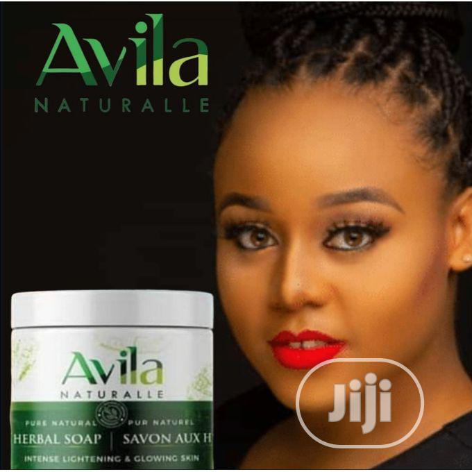Avila Intense Lightening Organic/Black Soap 250gm