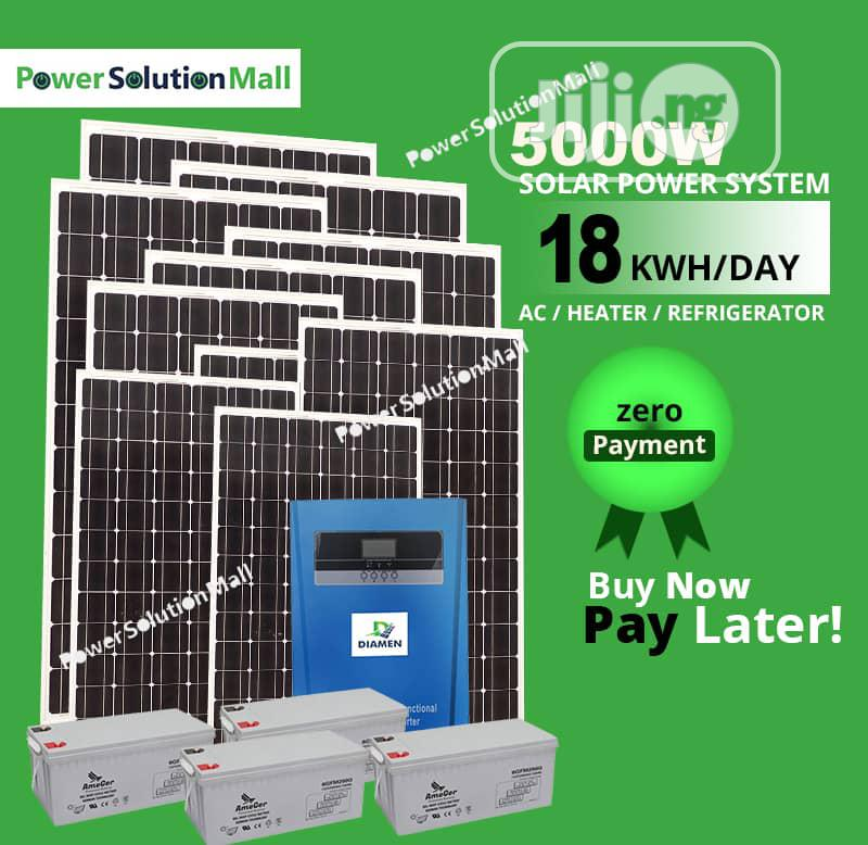 5kw SOLAR Inverter Installation (Buy Now Pay Later Option)
