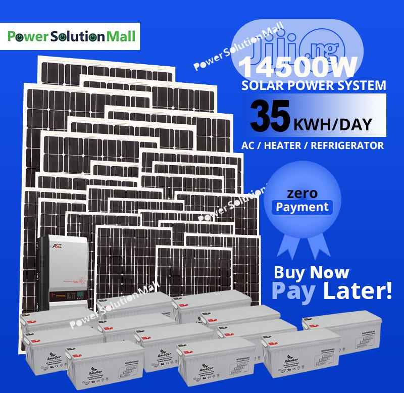 14500W SOLAR Installation (With Pay Later Option)