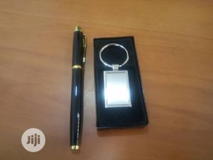 Steel Keyholder With Steel Pen Set   Stationery for sale in Lagos State, Surulere