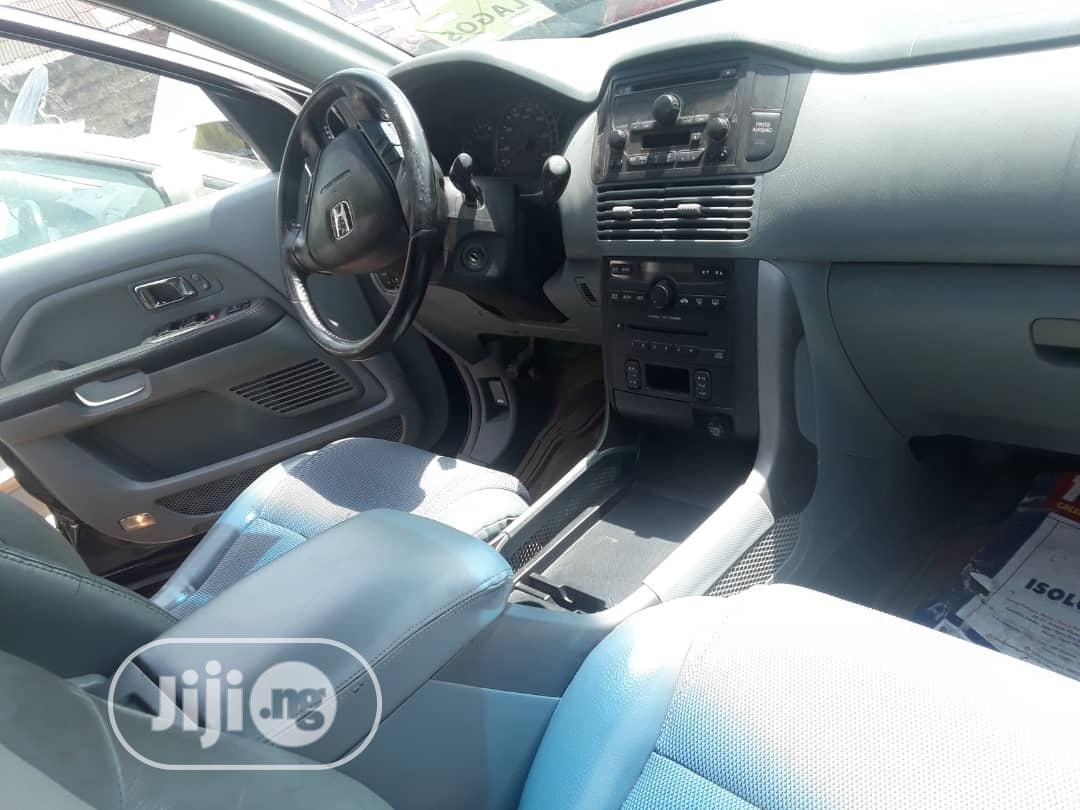 Honda Pilot 2005 EX-L 4x4 (3.5L 6cyl 5A) Gray | Cars for sale in Ojodu, Lagos State, Nigeria
