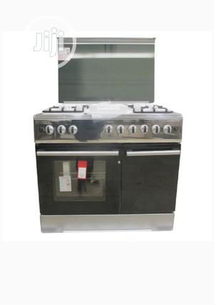 Bruhm Standing Gas Cooker 5 Gas Burners 90 X 60 | Kitchen Appliances for sale in Abuja (FCT) State, Apo District