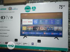 Hisense 75inch Smart T.V   TV & DVD Equipment for sale in Lagos State, Ojo