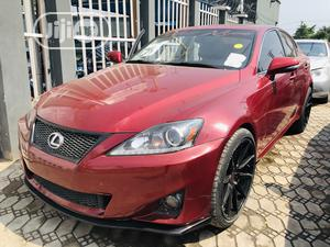 Lexus IS 2012 250 Automatic Red | Cars for sale in Lagos State, Amuwo-Odofin