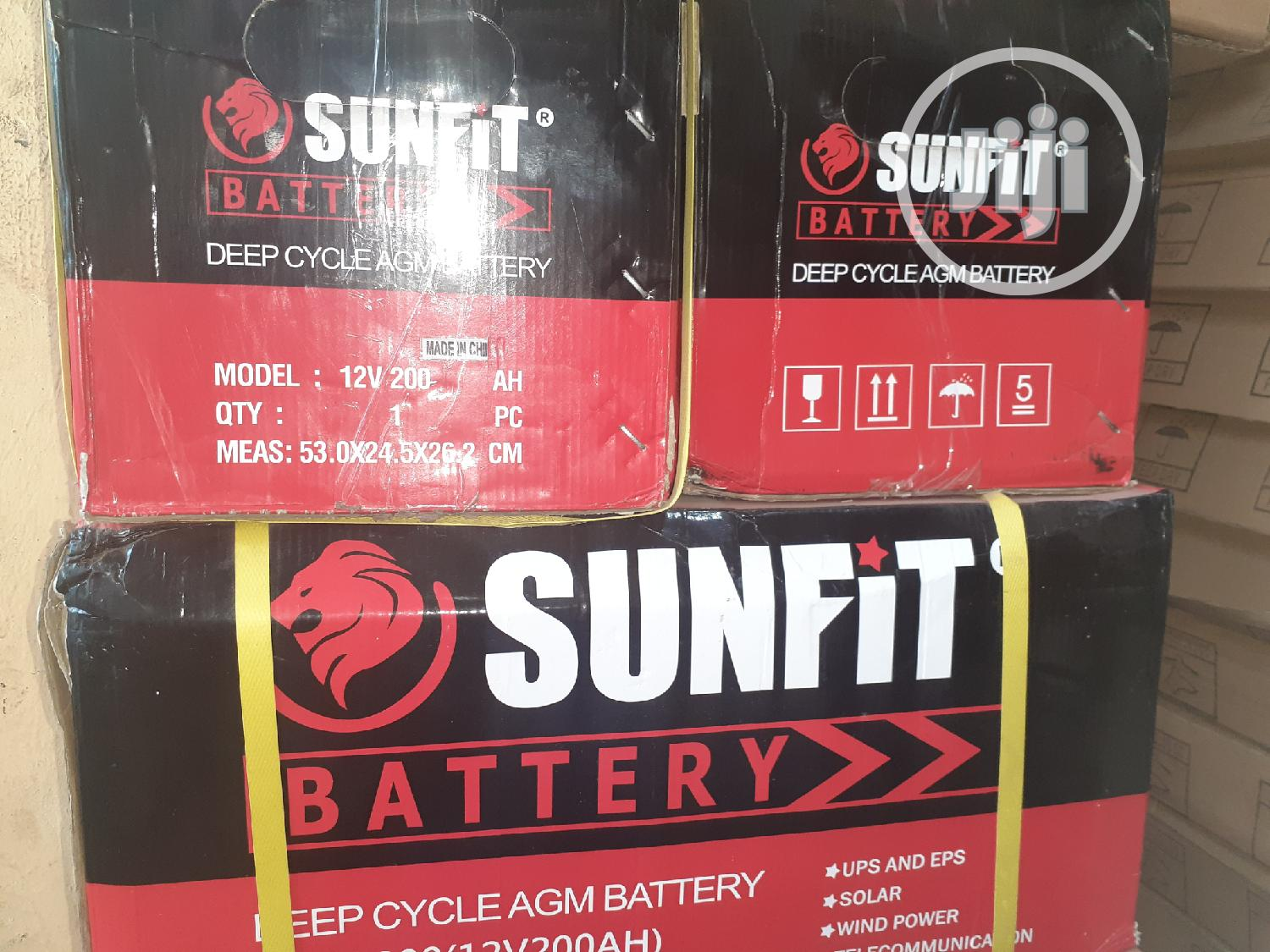 Archive: 200ah 12v Deep Cycle Sunfit Solar Battery
