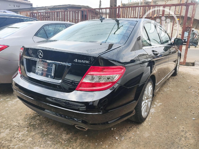 Mercedes-Benz C300 2010 Black | Cars for sale in Ikeja, Lagos State, Nigeria