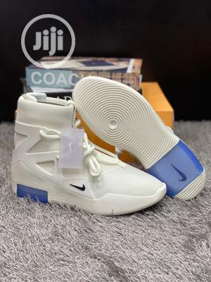 """Original Nike X Fear of God """"White Sail"""" Sneakers Available   Shoes for sale in Lagos State, Surulere"""
