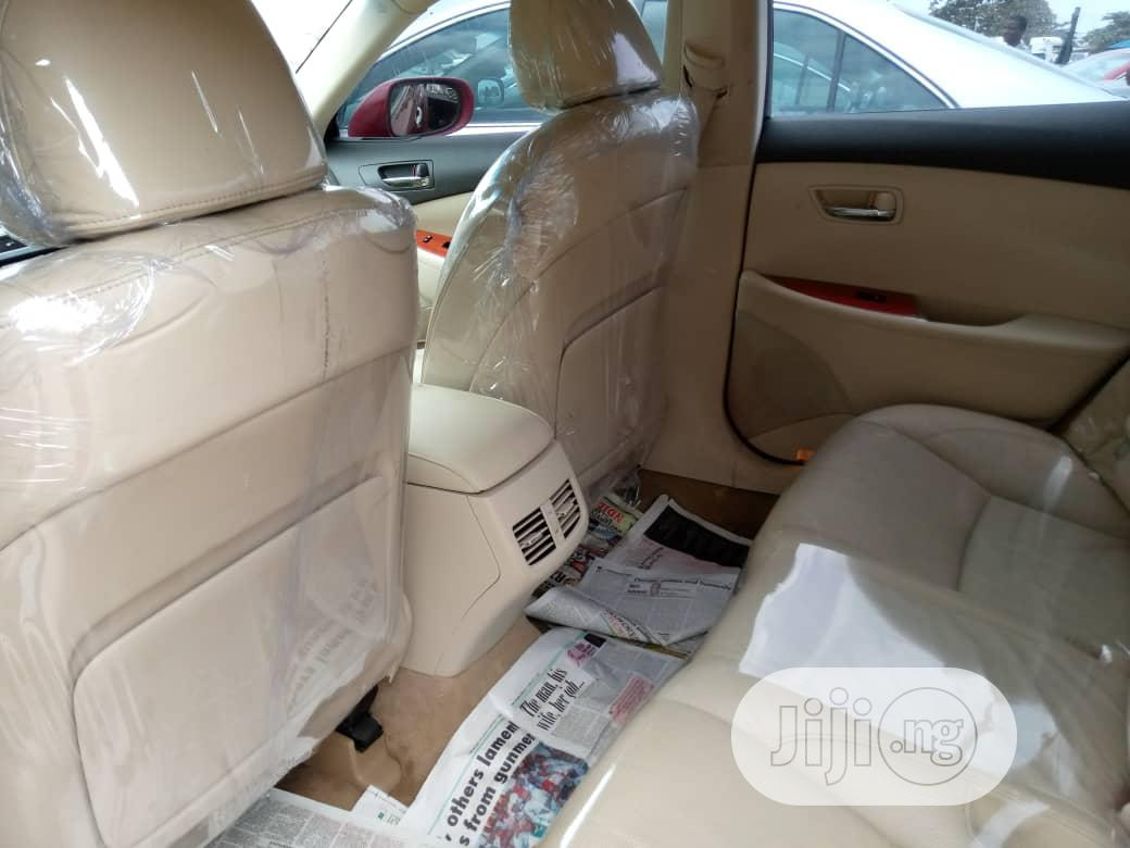Archive: Lexus ES 2010 350 Red