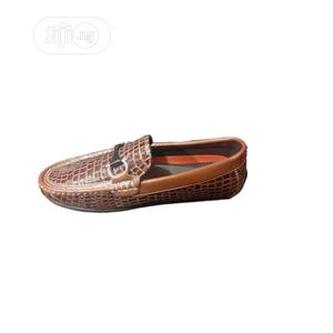 Brown Leather Shoe for Boys   Children's Shoes for sale in Lagos State, Ojodu