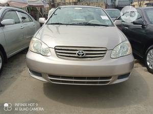 Toyota Corolla 2003 Sedan Gold | Cars for sale in Lagos State, Apapa