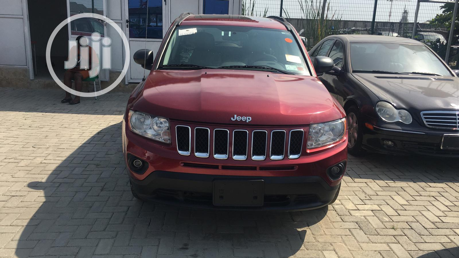Jeep Compass 2011 Limited Red