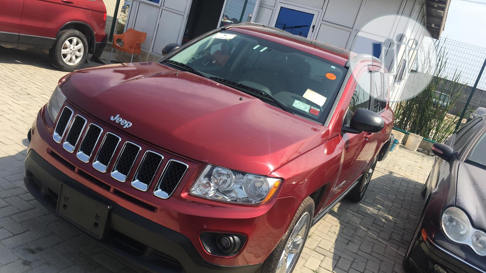Jeep Compass 2011 Limited Red | Cars for sale in Lekki, Lagos State, Nigeria