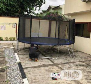 14ft Trampoline With Ladder   Sports Equipment for sale in Lagos State, Ejigbo