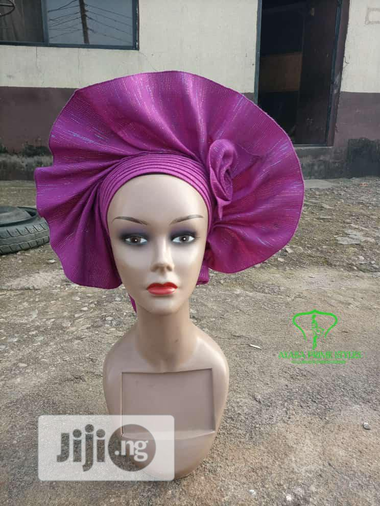 Auto Gele for Owambe | Clothing Accessories for sale in Gbagada, Lagos State, Nigeria