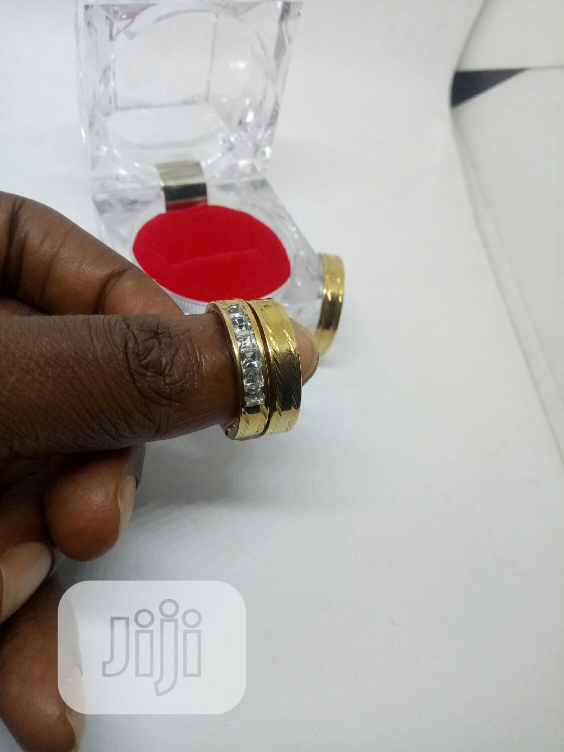 Rose Indiana Set Of Wedding Ring 009 - Gold | Wedding Wear & Accessories for sale in Ojodu, Lagos State, Nigeria