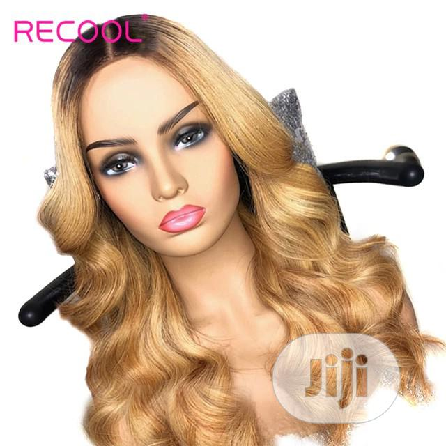 Archive: Quality Human Hair Gold Wig XMAS PROMO