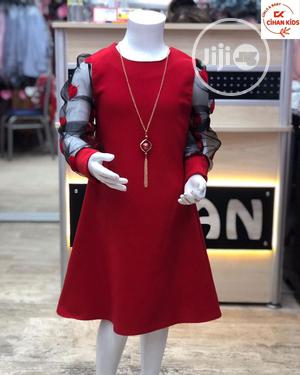 Beautiful Red A-Line Dress | Children's Clothing for sale in Abuja (FCT) State, Gwarinpa
