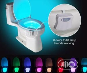 8 Colored Sensor Activated Toilet Led Ligth Bowl | Home Accessories for sale in Lagos State, Lagos Island (Eko)