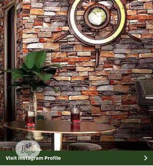 3D Wall Paper Design & Window Blind.   Home Accessories for sale in Lagos State, Alimosho