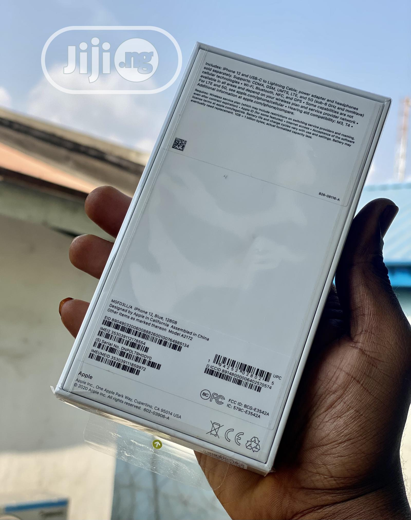 New Apple iPhone 12 128 GB Blue | Mobile Phones for sale in Ikeja, Lagos State, Nigeria