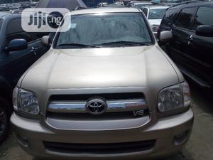Toyota Sequoia 2006 Gold   Cars for sale in Lagos State, Amuwo-Odofin
