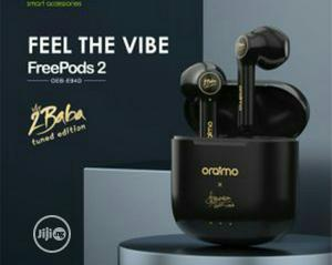 Oraimo Freepods-2 2baba-version True Wireless Stereoearbud   Accessories for Mobile Phones & Tablets for sale in Lagos State, Lagos Island (Eko)