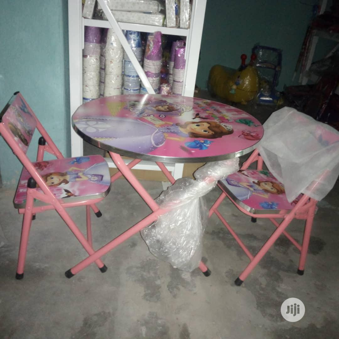 Archive: Children Table And Chairs.