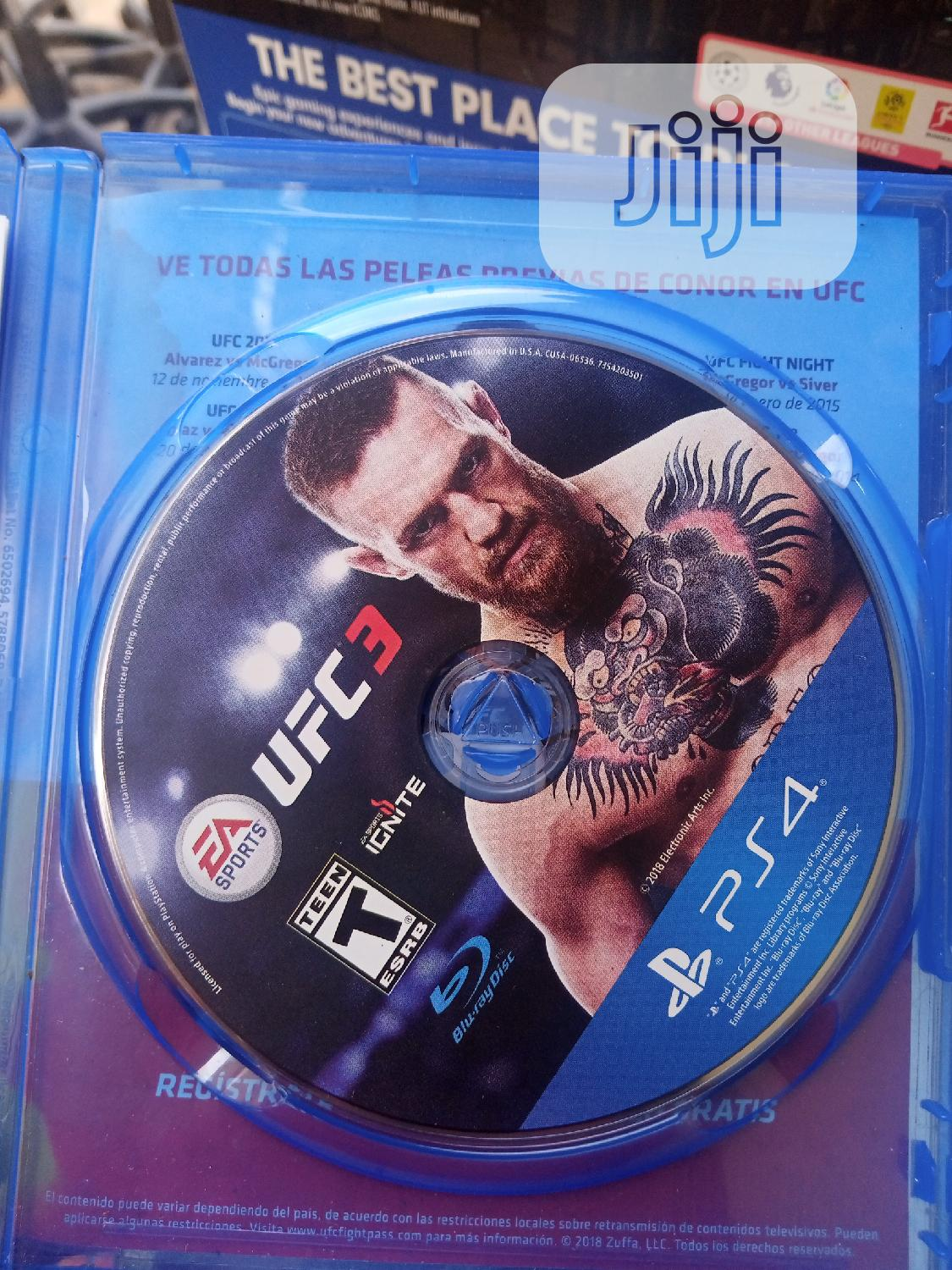 Archive: PS4 UFC 3 Game