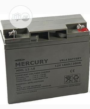 Mercury Ups Battery 12v18ah | Solar Energy for sale in Lagos State, Ikeja