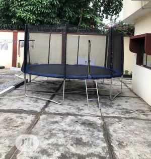 14ft Trampoline With Ladder & Net   Sports Equipment for sale in Lagos State, Lekki