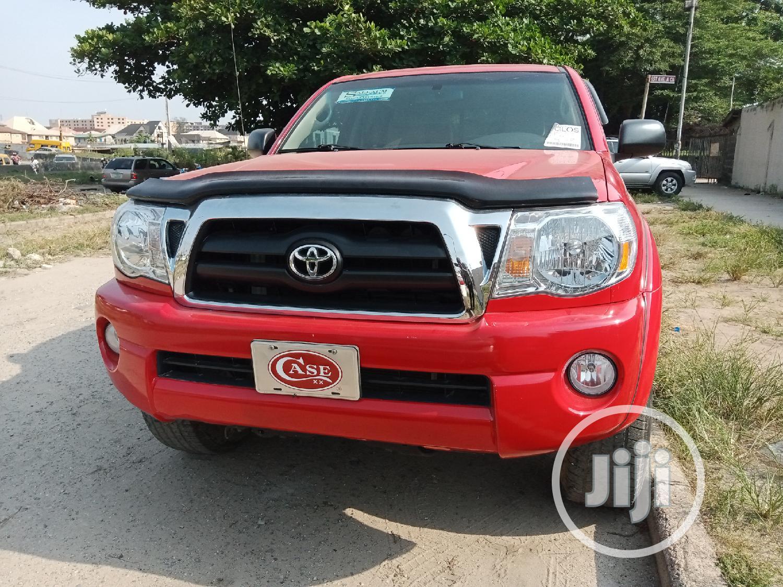 Toyota Tacoma 2007 Red