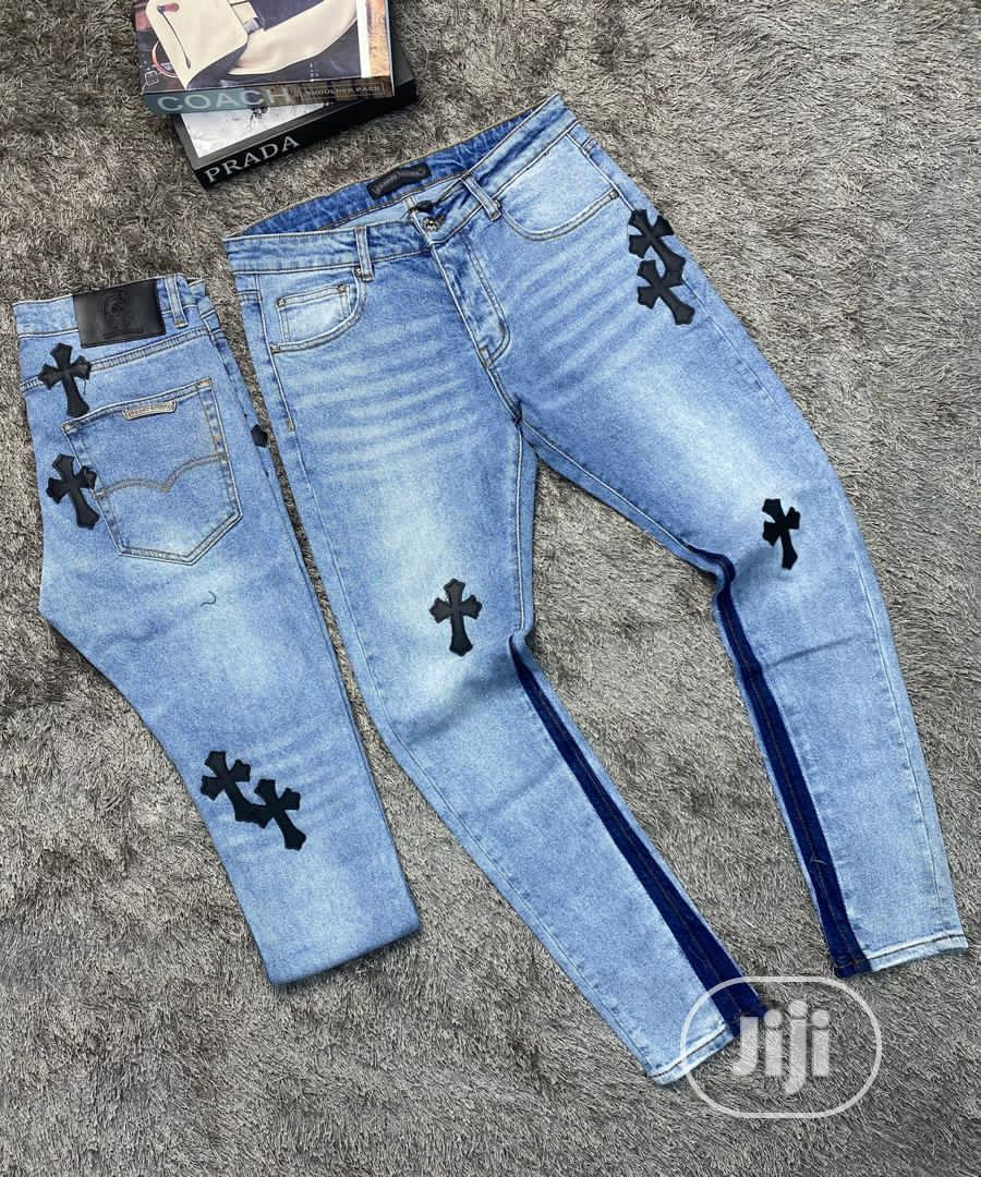 High Quality Chrome Heart Jeans | Clothing for sale in Magodo, Lagos State, Nigeria