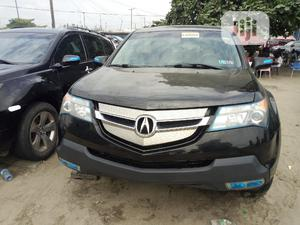 Acura MDX 2008 SUV 4dr AWD (3.7 6cyl 5A) Black | Cars for sale in Lagos State, Amuwo-Odofin