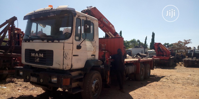 10 Tons Man Diesel Moblie Hiab And Crane