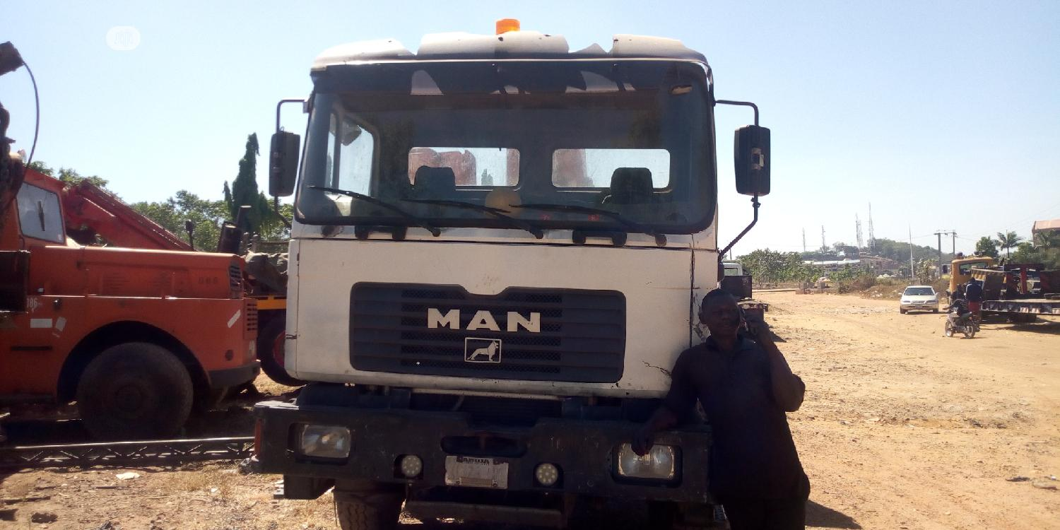 10 Tons Man Diesel Moblie Hiab And Crane | Trucks & Trailers for sale in Central Business Dis, Abuja (FCT) State, Nigeria