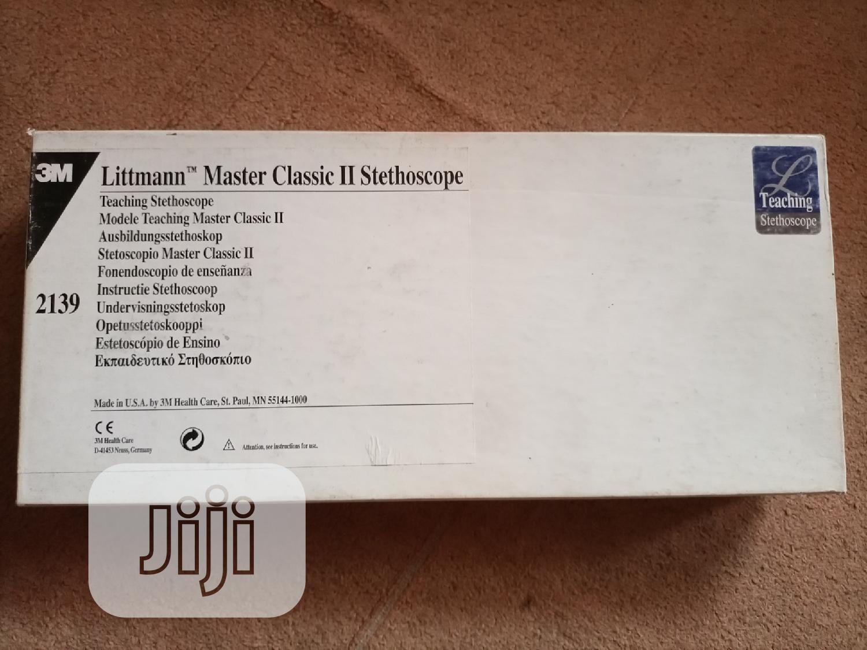 Archive: Littman Master Class II Stethoscope
