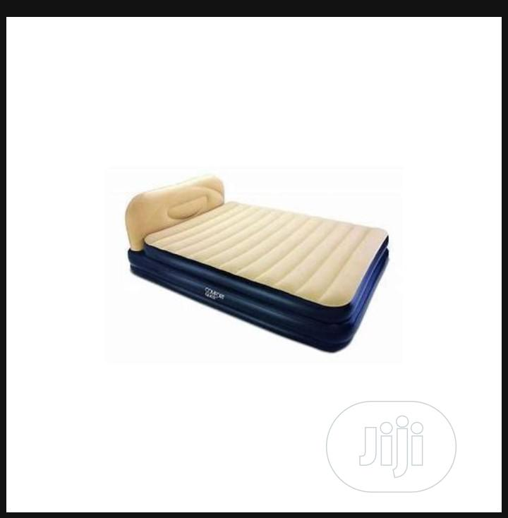 Bestway Comfort Soft Elevated Queen Airbed - Built in Pump | Furniture for sale in Isolo, Lagos State, Nigeria