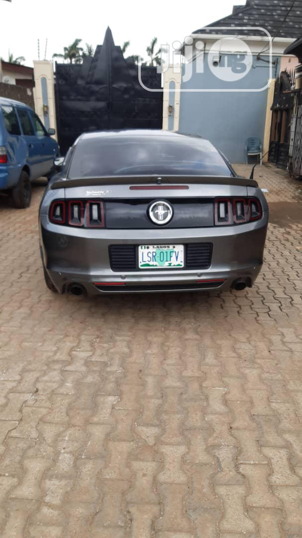 Ford Mustang 2014 Gray | Cars for sale in Alimosho, Lagos State, Nigeria