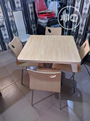Quality Restaurant Table With 4 Chairs   Furniture for sale in Lagos State, Ojo
