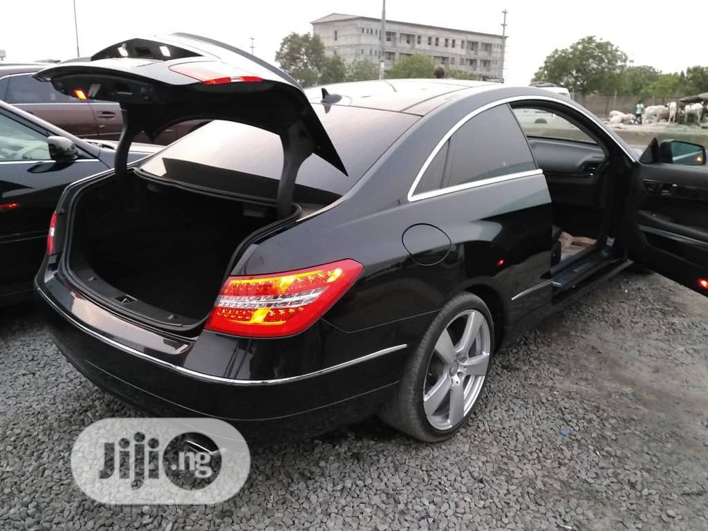 Mercedes-Benz E350 2013 Black   Cars for sale in Ajah, Lagos State, Nigeria