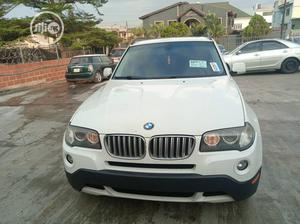 BMW X3 2007 2.0D Sport White   Cars for sale in Lagos State, Ikeja