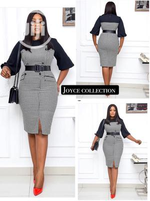 Elegant Black And Silver Gown   Clothing for sale in Enugu State, Nkanu West