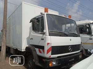 Mercedes Benz 814 Container Body Truck White | Trucks & Trailers for sale in Lagos State, Apapa